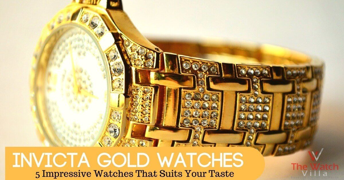 Invicta Gold Watches