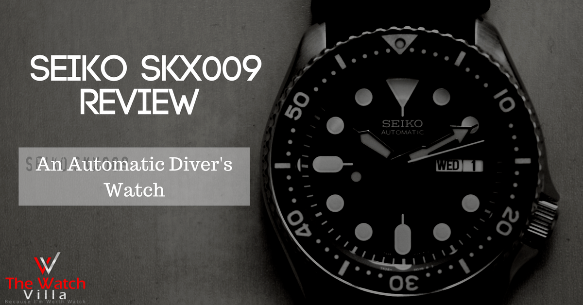 Seiko SKX009 Review: The Goods and Bads