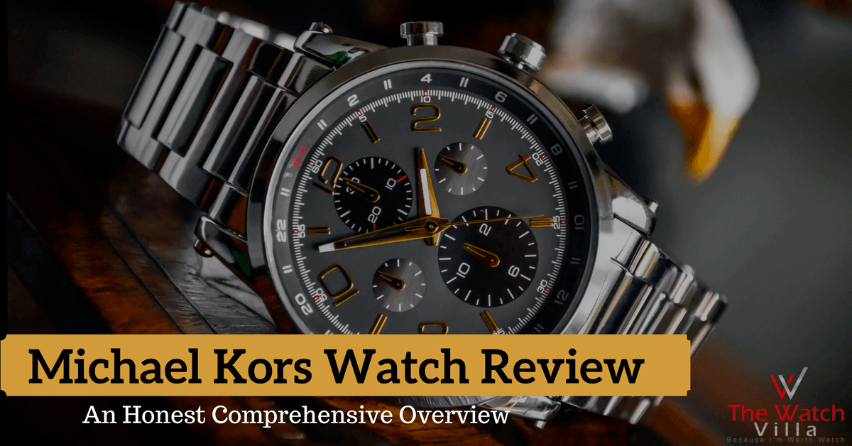 Michael Kors Watch Review: Buyer's Guide