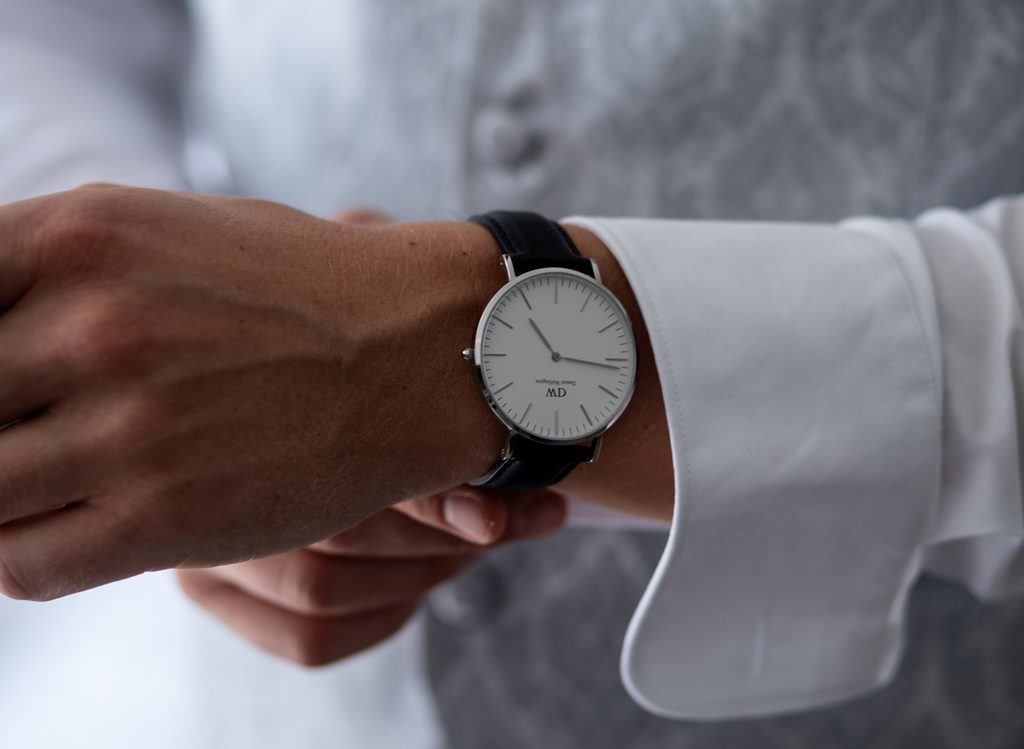 What hand does a watch go on - The Crown